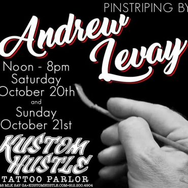THIS WEEKEND by Andrew Levay so If you want something pinstriped stop by