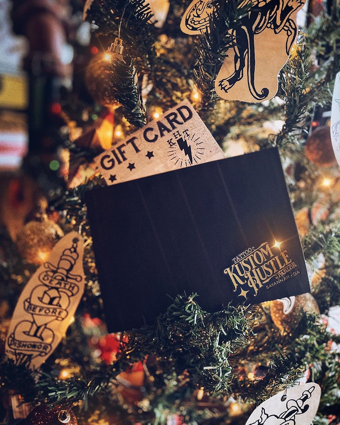 We will be closing at 6pm today and will be closed all day tomorrow for the holiday. We hope everyone has a wonderful time with their loved ones. Don't forget that today is the last day of our $20 off every $100 gift card sale. Grab a physical gift card at the shop until 6pm today or online at kustomhustle.com until midnight tonight
