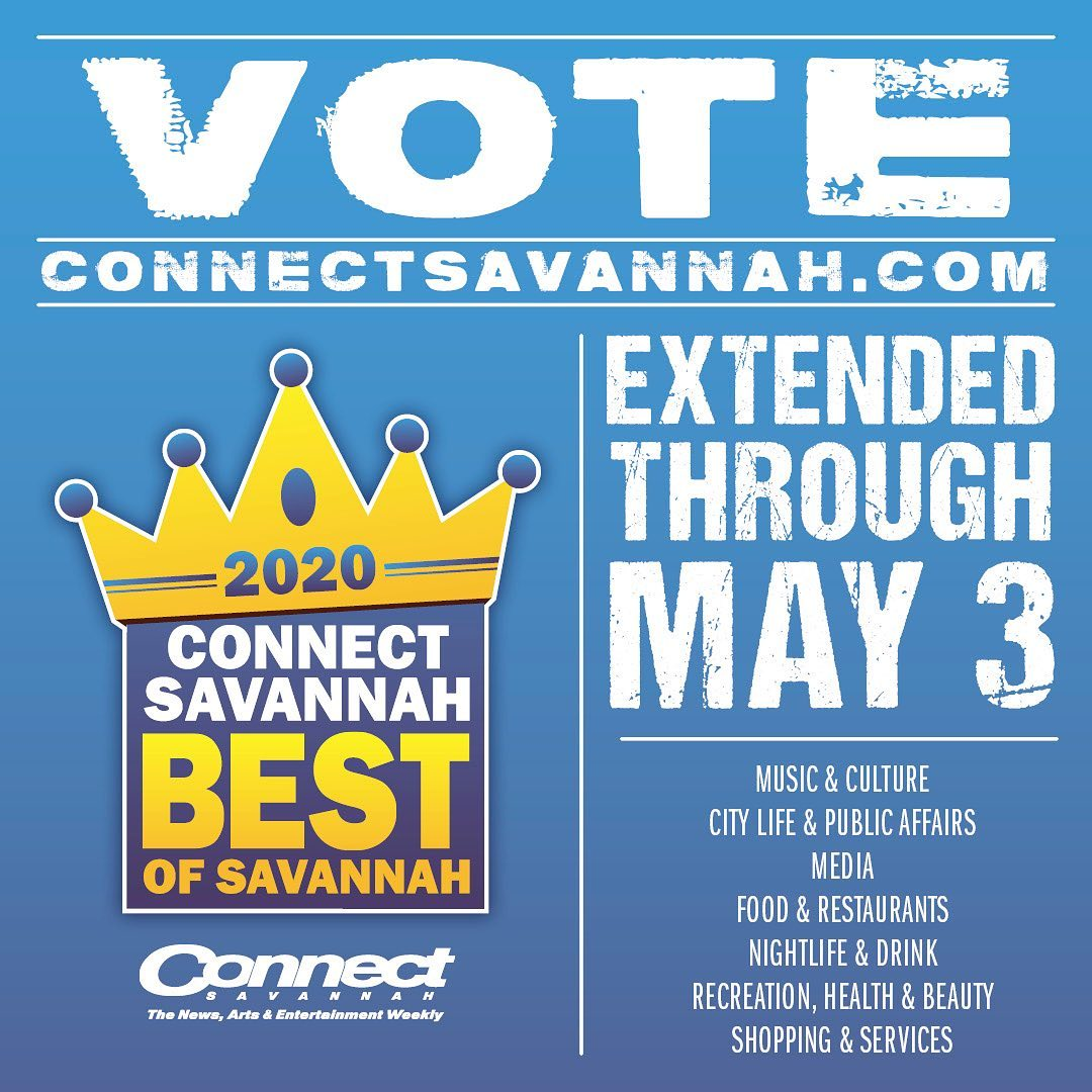 If you haven't already, please head on over to @connectsavannah and cast your vote!