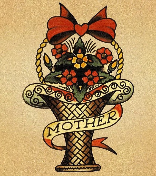 Happy Mother's Day to all the tattooed moms out there. Non-tattooed moms… what are you waiting for?