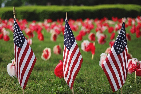 With so much talk about personal freedoms and rights during this uncertain time, please take a moment to remember those who gave their lives in the service of our country and the freedom that we hold so dear today